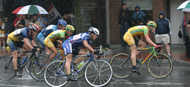 Image: Bicyclists race to the finish line. Competitor website analysis by Nichelabs, LLC. Atlanta Digital Marketing Agency.
