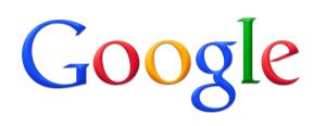 The old Google logo