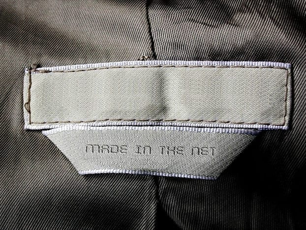 Image: Made In The Net jacket tag. Website optimization solutions by NicheLabs Digital Marketing Agency. Atlanta GA and Naples FL.